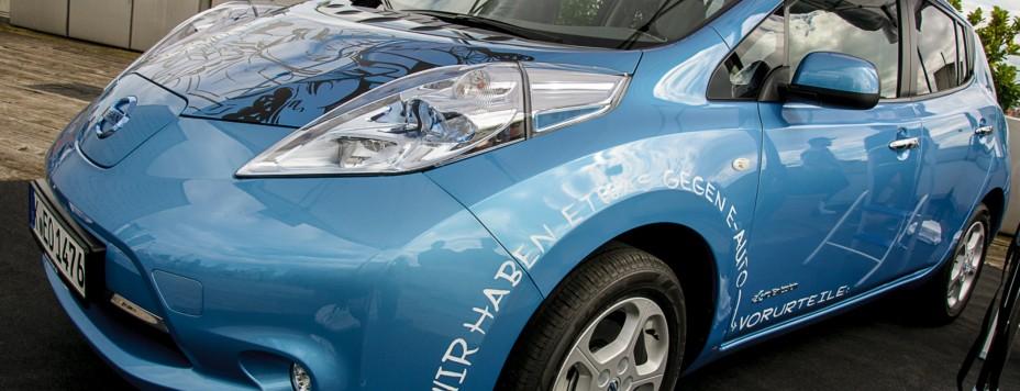 Nissan Leaf (Parkhaus Oberpleis)